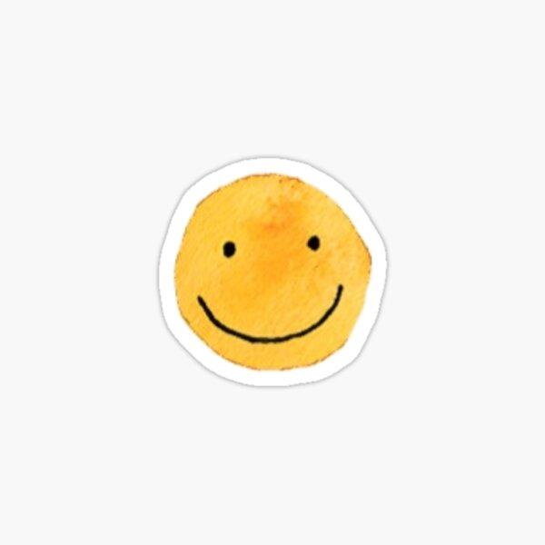 watercolor smile Sticker