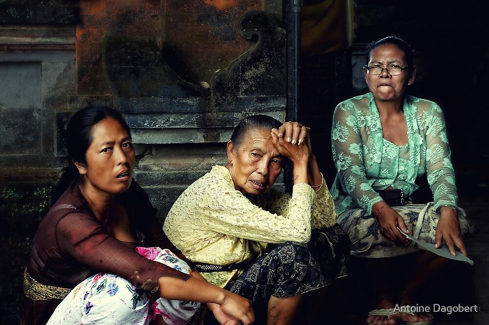 Balinese Women by Antoine Dagobert