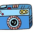 «camara azul» de stickersnstuff