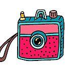 «cámara cuadrada» de stickersnstuff