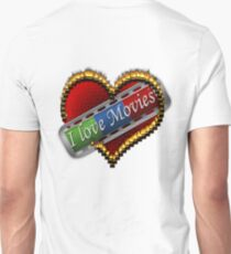 I Love Films Unisex T-Shirt