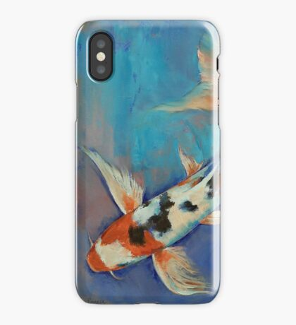 Sanke Butterfly Koi iPhone Case