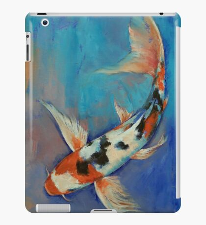 Sanke Butterfly Koi iPad Case/Skin
