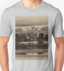 Seaton Delaval Hall in antiqued sepia Unisex T-Shirt