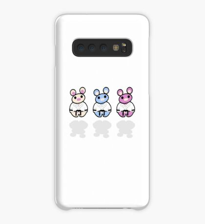 STPC: Three Chibis (Dobok) Case/Skin for Samsung Galaxy