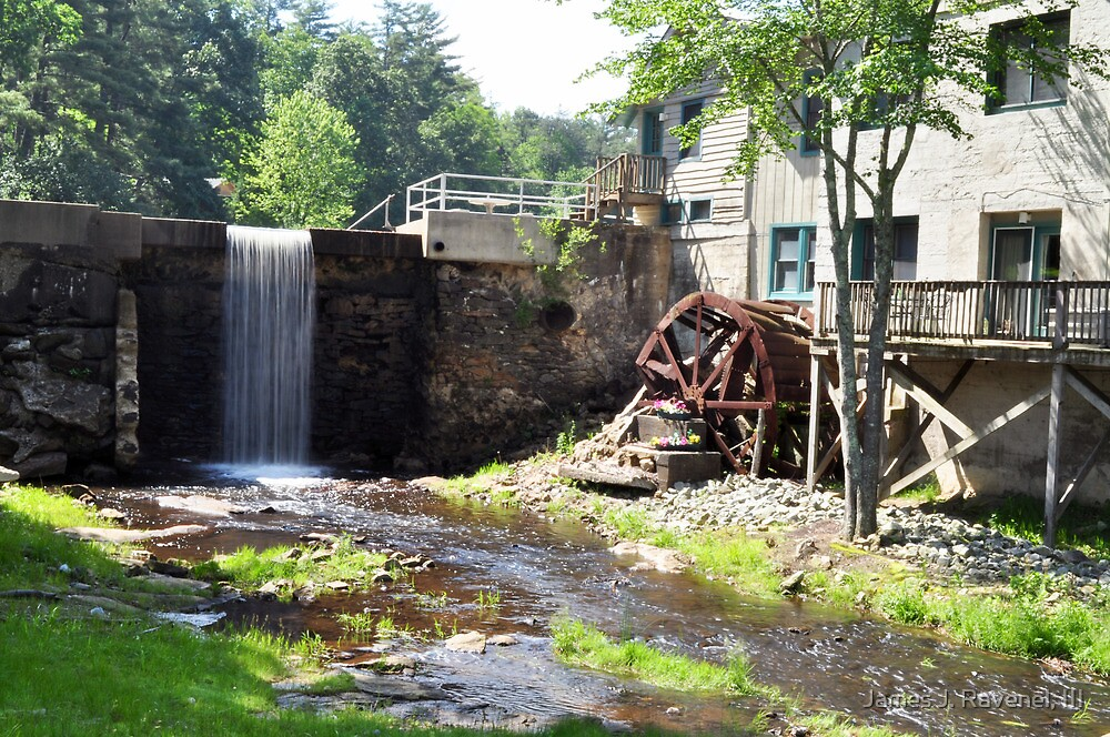 The Olde Mill House Lodge, Flat Rock, NC, USA by James J. Ravenel, III