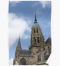 Bayeux Cathedral Poster