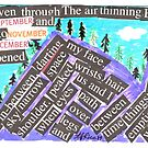 Mountain Painting with Words by TFRICE