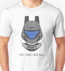 Füße zuerst in die Hölle - ODST Slim Fit T-Shirt