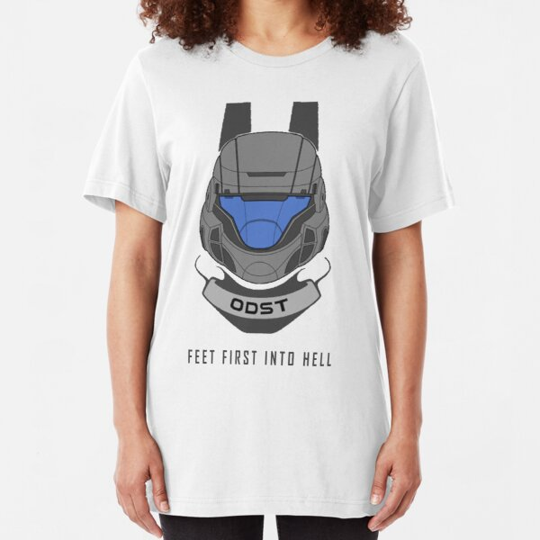 Feet First Into Hell - ODST Slim Fit T-Shirt