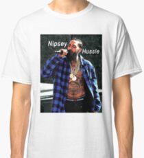 Nipsey Hussle - Camisa azul - Homenaje Camiseta clásica
