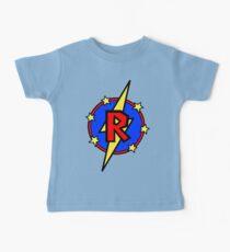 Netter kleiner SuperHero Geek - Superbrief R Baby T-Shirt