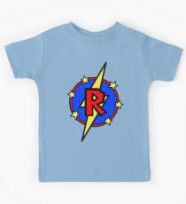 Netter kleiner SuperHero Geek - Superbrief R Kinder T-Shirt