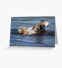 Cor! Its Wet Innit! Greeting Card