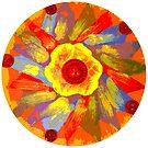 Flower Mandala  by EmilySutin