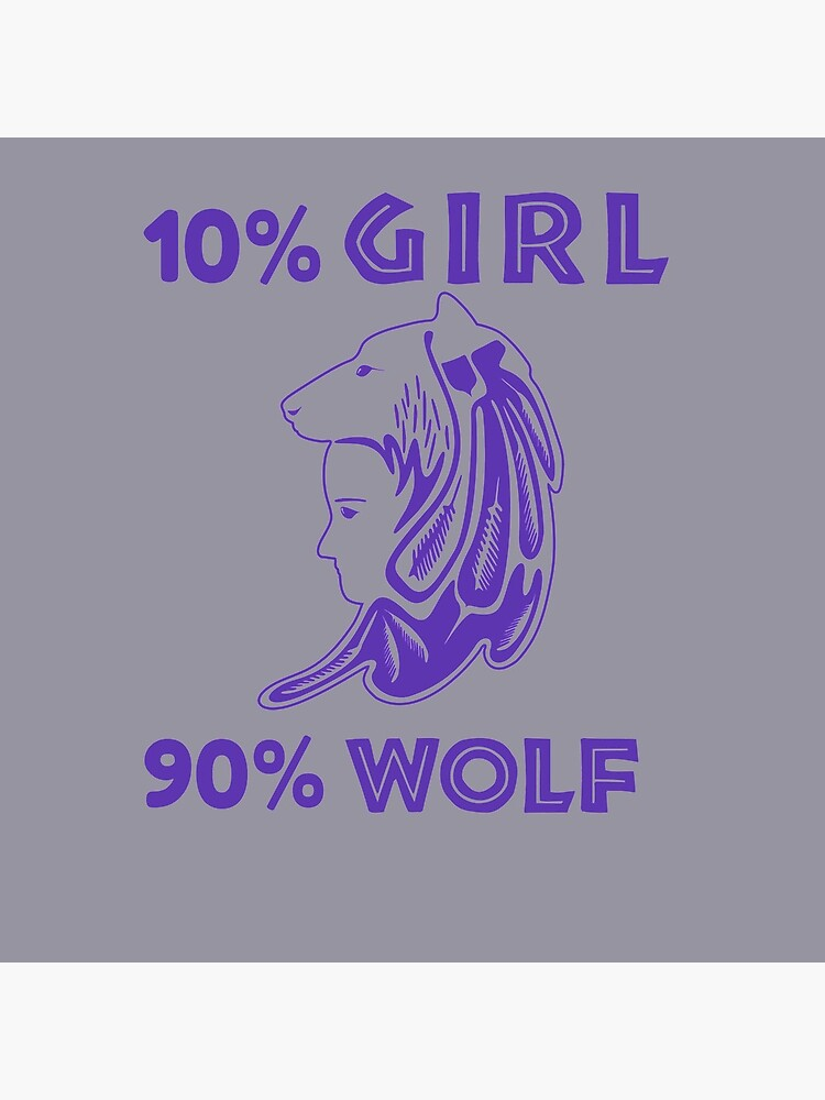 Girl is Wolf Design by Atkisson
