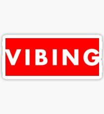 Vibing Sticker
