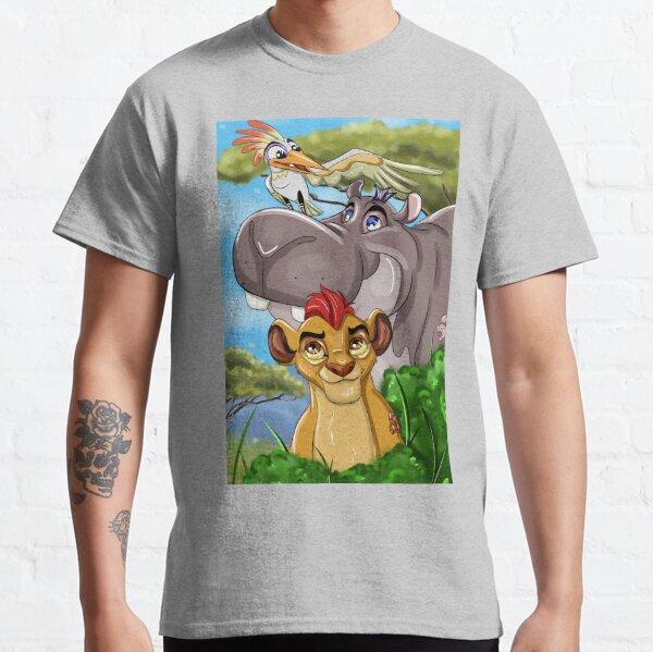 Lion Cartoon Guard  Classic T-Shirt