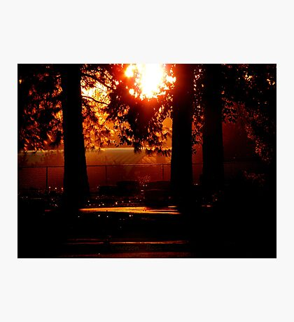 Silhouetted Memories Photographic Print