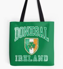 Donegal, Ireland with Shamrock Tote Bag