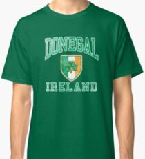 Donegal, Ireland with Shamrock Classic T-Shirt
