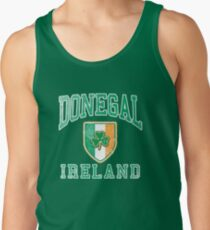 Donegal, Ireland with Shamrock Tank Top