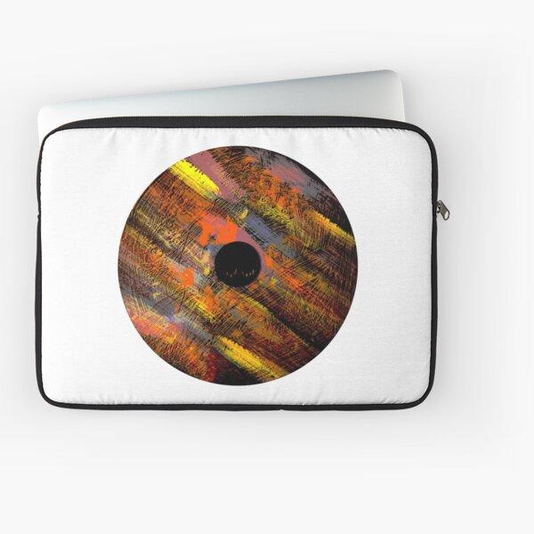 Fast Motion Mandala  Laptop Sleeve