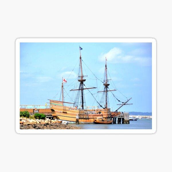 Mayflower II, Plymouth Sticker