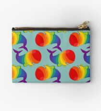 Homosexuwhale - no text Zipper Pouch