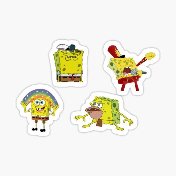 SpongeBob Meme Sticker Pack Sticker