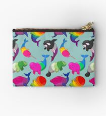 Sexuality Whales (And Aromanatee) Pattern Studio Pouch