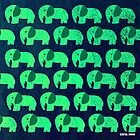 «green emerald elephant ecopop» de jorgelebeau