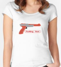 Packing Heat - Zapper Women's Fitted Scoop T-Shirt