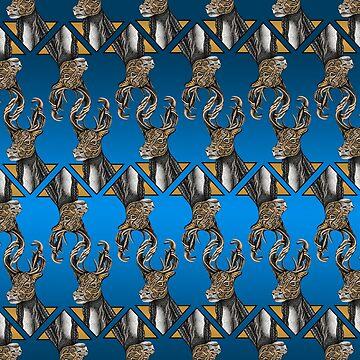 Caribou (Reindeer) Pattern by Free-Spirit-Meg