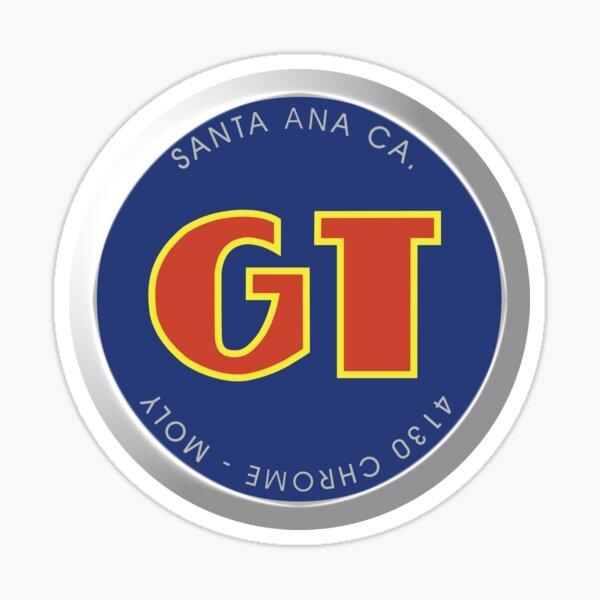 Old GT Skool BMX Logo Pegatina