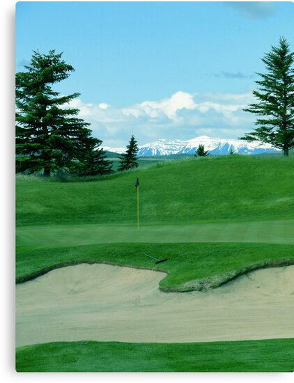 Golf Heaven  by Al Bourassa