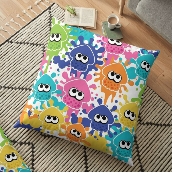 SPLATOON squid splats  Floor Pillow