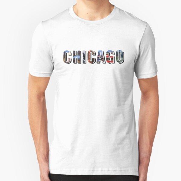 Chicago Places Slim Fit T-Shirt