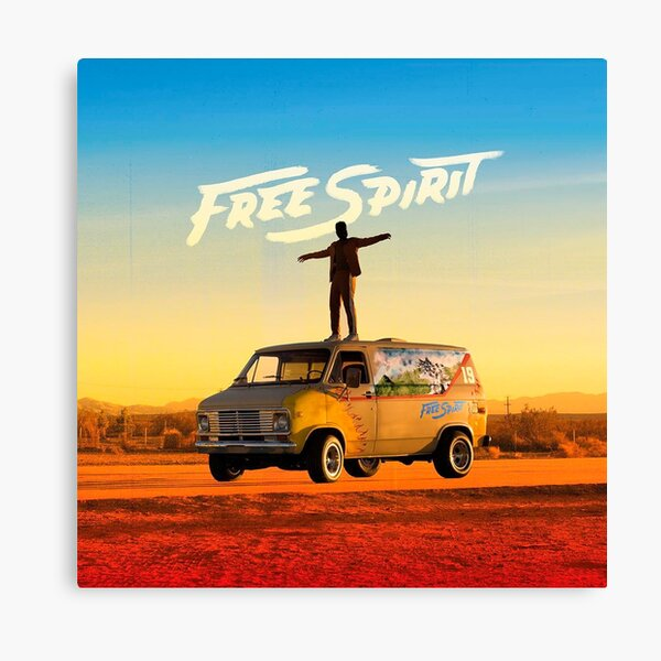 Free Spirit - Khalid album cover Canvas Print