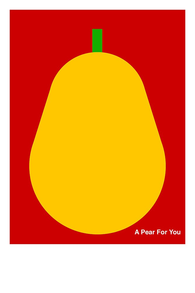 A Pear For You by Craig Kirby