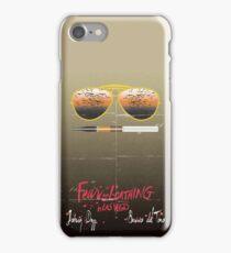 Minimalist Fear amd Loathing  iPhone Case/Skin