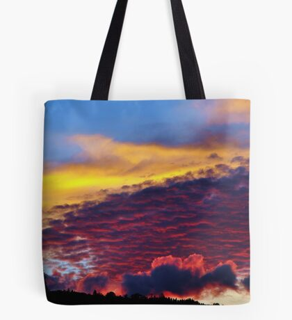 sunset colours Tote Bag