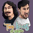Two Kinds of People (Markiplier & TwoKinds) by Shuploc