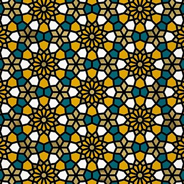 Persian Mosaic – Marigold Palette by catcoq