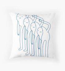Snow Gollum Throw Pillow