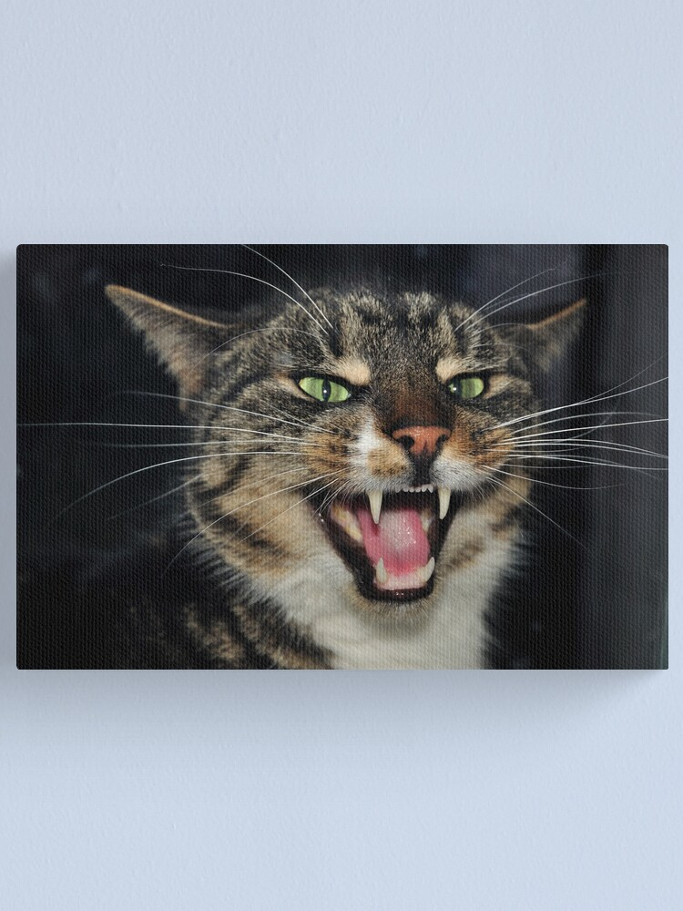 Alternate view of Hear Me Roar Canvas Print