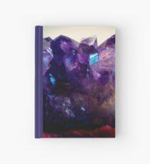 Amethyst Cluster Hardcover Journal