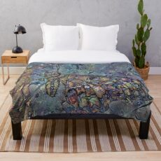 Lepidoptera 11 Throw Blanket