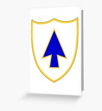 26th Infantry Regiment (United States) Greeting Card