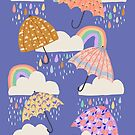 Spring Rain by latheandquill